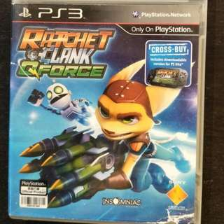 PS3 Ratchet Clank QForce