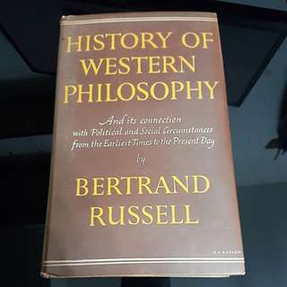 Bertrand Russell - History of Western Philosophy Fourth Impression 1954
