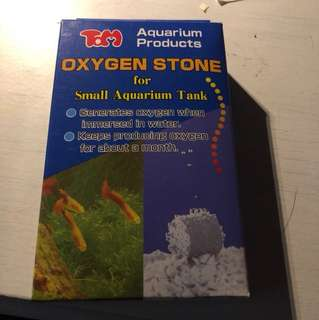 Oxygen stone for small tanks