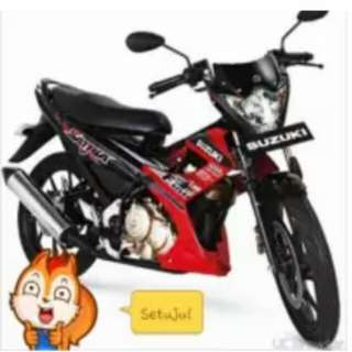 Suzuki satria 2014 akhir