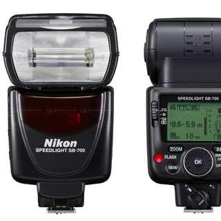 (USED) NIKON SB700 PROFESSIONAL FLASH ~ TTL / AUTO FOCUS