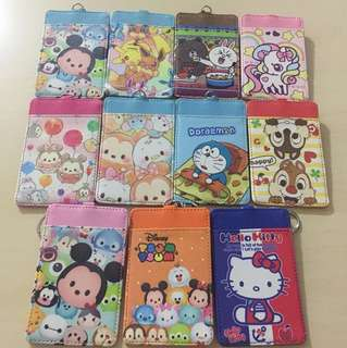 Lanyard Card Holder( Tsum Tsum , hello kitty n little twin star)