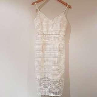 Kookai White Dress Size EU 38