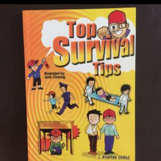 Top Survival Tips - Asiapac Self-Help Life Skills Book Series