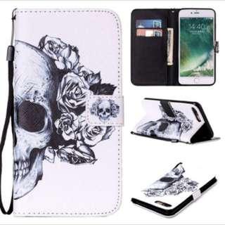 iPhone Skull Flip Case