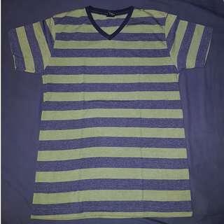 Blue Green Stripe Shirt