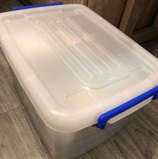 滑輪整理收納箱