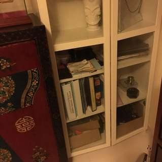 White cabinet for sale cheaply !