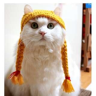 (PO) Little Girl Cap for cats