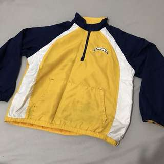 NFL Chargers windbreaker (with issues)