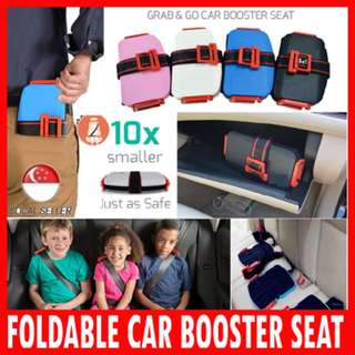 BN - Portable Foldable Car Booster Seat 💖 Car Booster Seat ★ Safety For baby child children toddler