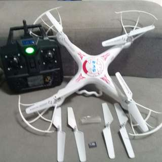 Drone with camera and USB port