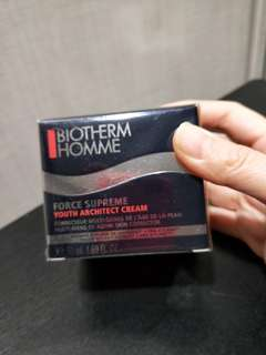 Biotherm homme force supreme cream 50ml