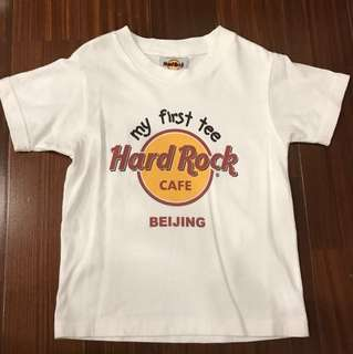 100% Authentic Hard Rock Beijing My First Tee