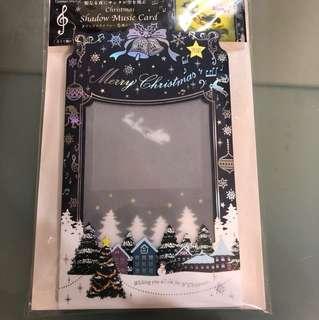 光影聖誕卡