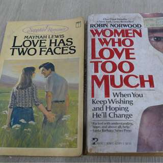 Women Who Love too Much and Love has Two Faces