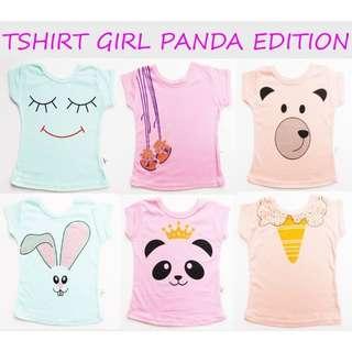Tshirt Kazel Panda Edition size S dan M