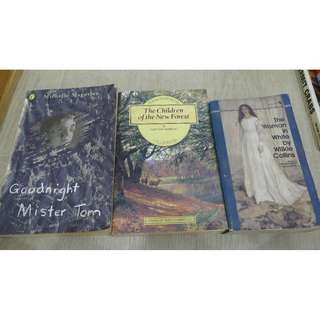 Woman in White, Children of the New Forest & Goodnight Mister Tom
