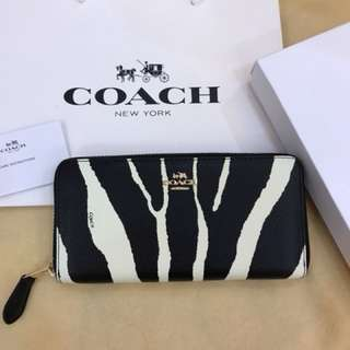 Authentic Coach women wallet purse pouch coin bag