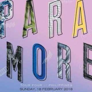 LF Paramore Ticket