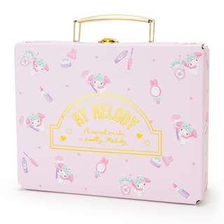 Sanrio 日本正版 My Melody Happiness系列 手提 紙盒 文具盒 雜物盒