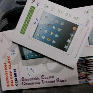 iPad mini,  iPad air 玻璃貼、保護套$30