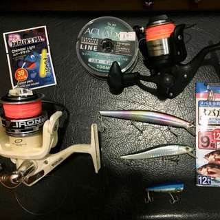 *price drop* Fishing kit/gear