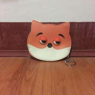 Fox Purse with Keychain