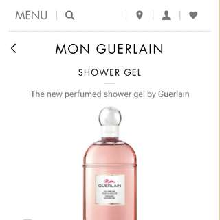 New# Mon Guerlain perfumed shower gel 200mL