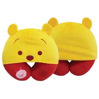 Disney 迪士尼 Winnie the Pooh 小熊維尼 頸枕 頭套 旅行必備