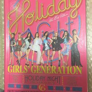 SNSD 10th anniversary album (holiday ver. )