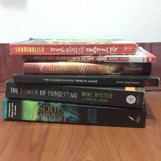Books for sale!