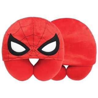 Disney 迪士尼 Spider Man 蜘蛛俠 頸枕 頭套 旅行必備