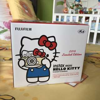 Fugifilm Instax mini hello kitty instant camera