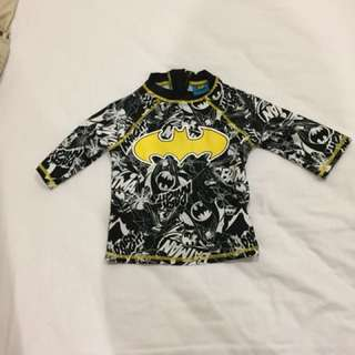 Mothercare Batman swim top age 3 boys