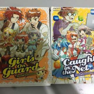 Candy jem series / candy factory comic x 2