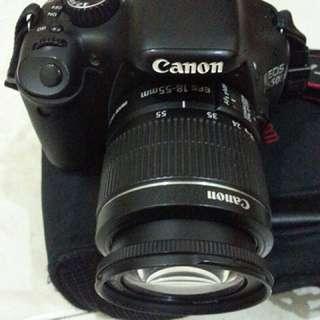 Canon 550D + 18-55mm lens