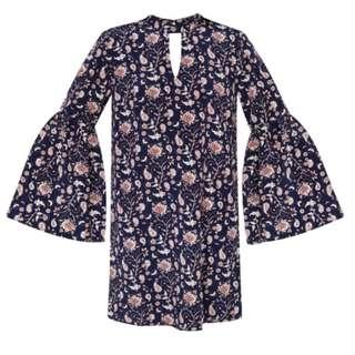 SALE! BRAND NEW ZALORA LOVE Fit & Flare Sleeves Dress