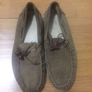 Zara brown loafer