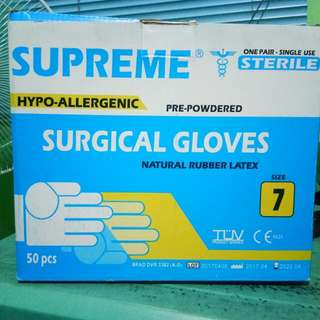 SURGICAL / STERILE GLOVES