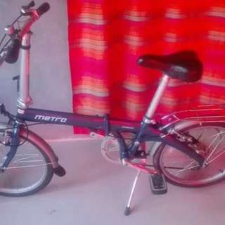 Folding bike and mountain bike