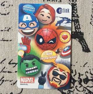 Marvel Avengers EzLink Card with 5$ value