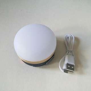USB充電led 露營燈 牀頭燈 Camping light 3檔 (強光 / 弱光 / 閃光)