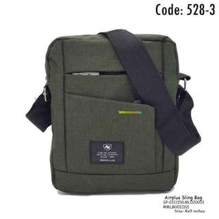 Airplus sling bag size : 8*9 inches