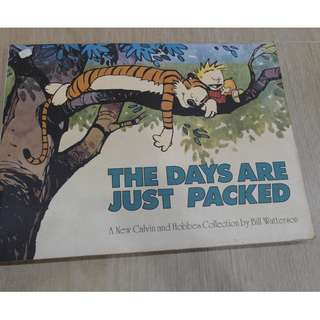 The Days are just packed Calvin and Hobbs
