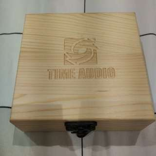 Nice wood box for cable