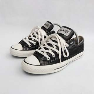 Converse CT Low Top Black Ox Leather