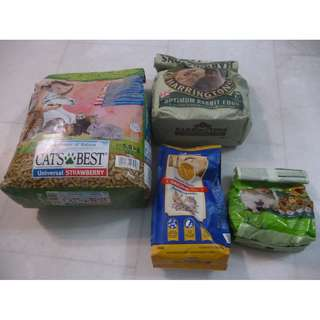 Pet food for cat rabbit cats rabbits pets
