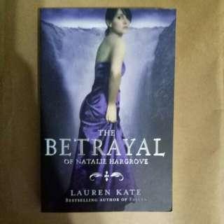 The Betrayal of Natalie Hargrove by Lauren Kate, a fallen novel