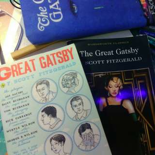 The great gatsby a level notes// literature paper 3